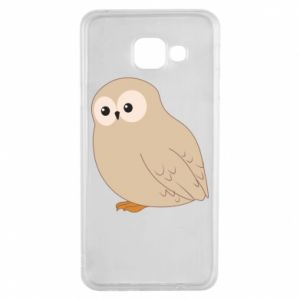 Etui na Samsung A3 2016 Plump owl