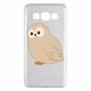 Etui na Samsung A3 2015 Plump owl
