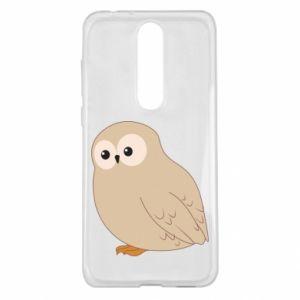 Etui na Nokia 5.1 Plus Plump owl