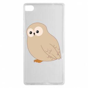 Etui na Huawei P8 Plump owl