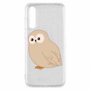 Etui na Huawei P20 Pro Plump owl