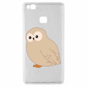 Etui na Huawei P9 Lite Plump owl