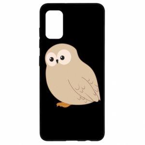 Etui na Samsung A41 Plump owl