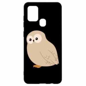 Etui na Samsung A21s Plump owl