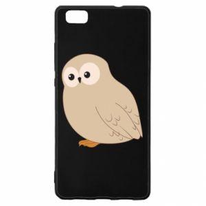 Etui na Huawei P 8 Lite Plump owl