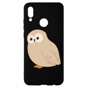 Etui na Huawei P Smart 2019 Plump owl