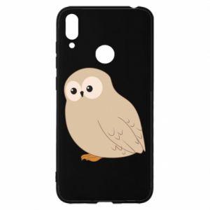 Etui na Huawei Y7 2019 Plump owl