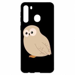 Etui na Samsung A21 Plump owl