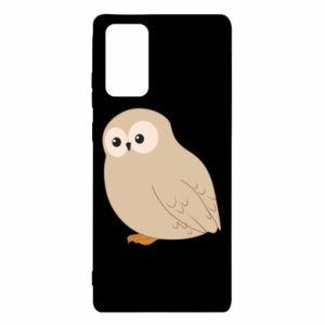 Etui na Samsung Note 20 Plump owl