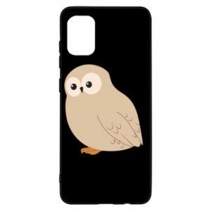 Etui na Samsung A31 Plump owl