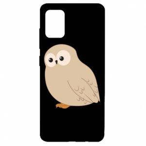 Etui na Samsung A51 Plump owl