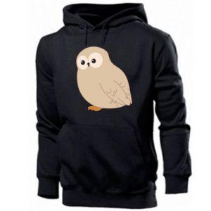 Men's hoodie Plump owl