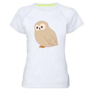 Koszulka sportowa damska Plump owl