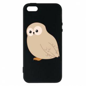 Etui na iPhone 5/5S/SE Plump owl