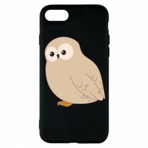 Etui na iPhone 7 Plump owl