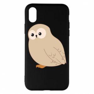 Etui na iPhone X/Xs Plump owl