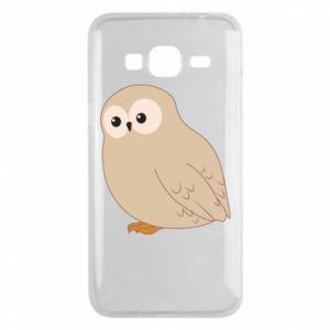 Etui na Samsung J3 2016 Plump owl