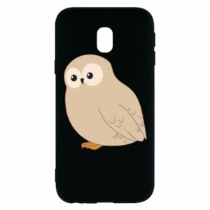 Etui na Samsung J3 2017 Plump owl