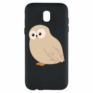 Etui na Samsung J5 2017 Plump owl