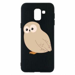 Etui na Samsung J6 Plump owl