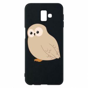 Etui na Samsung J6 Plus 2018 Plump owl