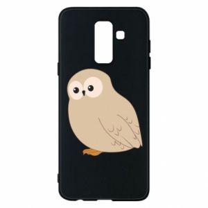 Etui na Samsung A6+ 2018 Plump owl