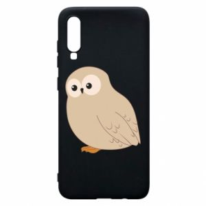 Etui na Samsung A70 Plump owl