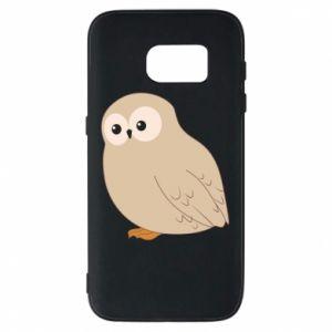 Etui na Samsung S7 Plump owl