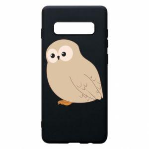 Etui na Samsung S10+ Plump owl