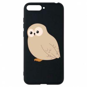 Etui na Huawei Y6 2018 Plump owl