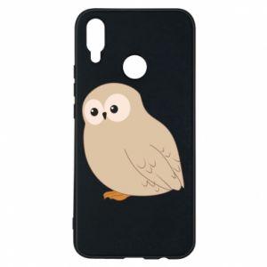 Etui na Huawei P Smart Plus Plump owl