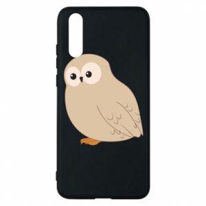 Etui na Huawei P20 Plump owl