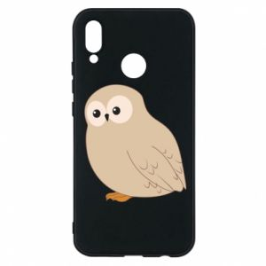 Etui na Huawei P20 Lite Plump owl