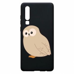 Etui na Huawei P30 Plump owl