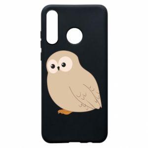Etui na Huawei P30 Lite Plump owl