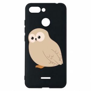 Etui na Xiaomi Redmi 6 Plump owl