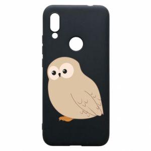 Etui na Xiaomi Redmi 7 Plump owl