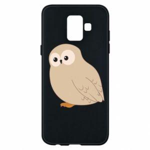 Etui na Samsung A6 2018 Plump owl