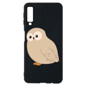 Etui na Samsung A7 2018 Plump owl