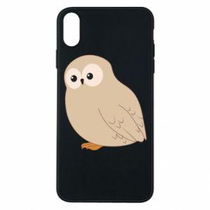 Etui na iPhone Xs Max Plump owl