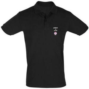 Koszulka Polo Pójdzie w cycki