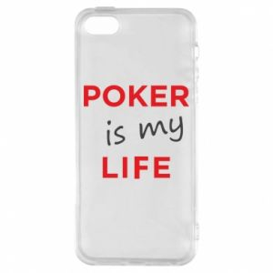 iPhone 5/5S/SE Case Poker is my life