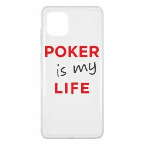 Samsung Note 10 Lite Case Poker is my life