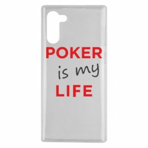Samsung Note 10 Case Poker is my life