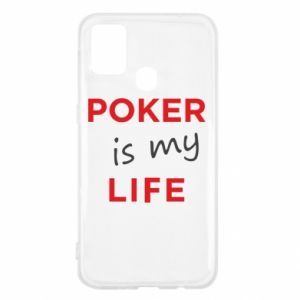 Samsung M31 Case Poker is my life