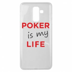 Samsung J8 2018 Case Poker is my life