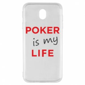 Samsung J7 2017 Case Poker is my life