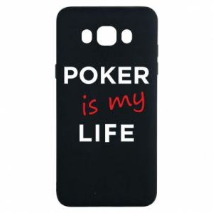 Samsung J7 2016 Case Poker is my life