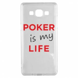 Samsung A5 2015 Case Poker is my life