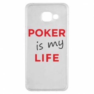 Samsung A3 2016 Case Poker is my life